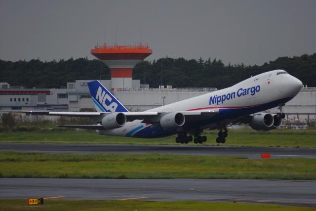 あおいそらさんが、成田国際空港で撮影した日本貨物航空 747-8KZF/SCDの航空フォト(飛行機 写真・画像)