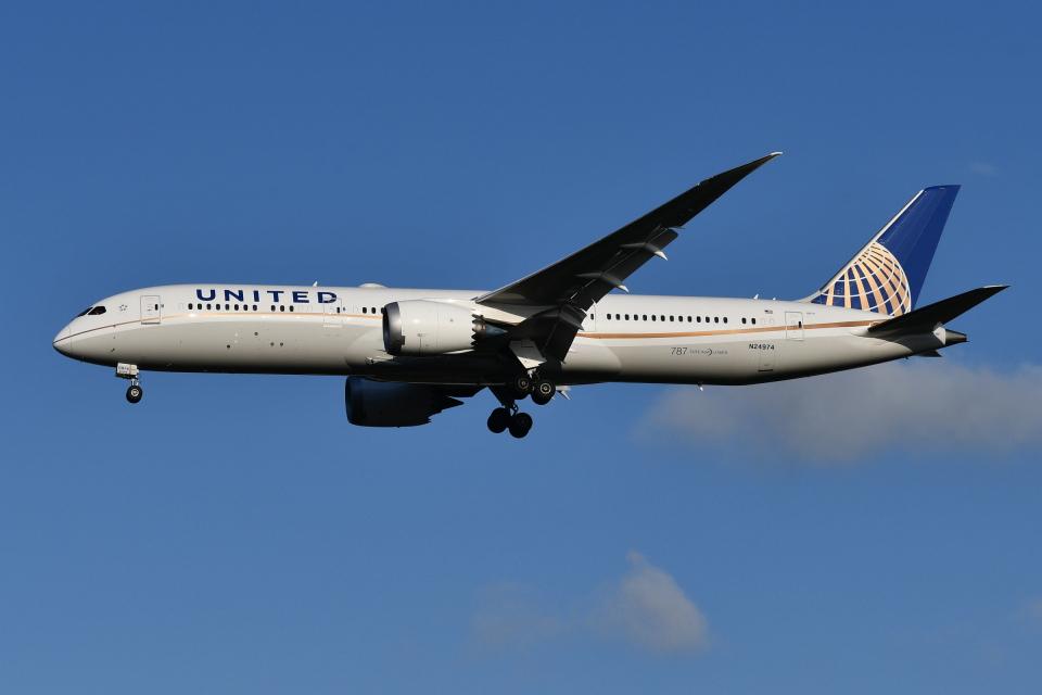 Deepさんのユナイテッド航空 Boeing 787-9 (N24974) 航空フォト