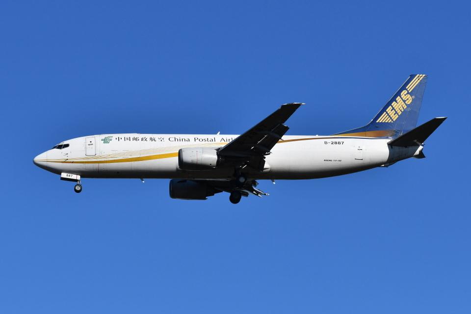 Deepさんの中国郵政航空 Boeing 737-400 (B-2887) 航空フォト