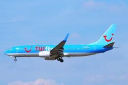 ちっとろむさんが、フランクフルト国際空港で撮影したトゥイフライ 737-804の航空フォト(飛行機 写真・画像)