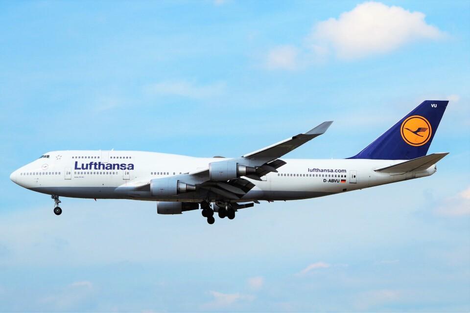 ちっとろむさんのルフトハンザドイツ航空 Boeing 747-400 (D-ABVU) 航空フォト