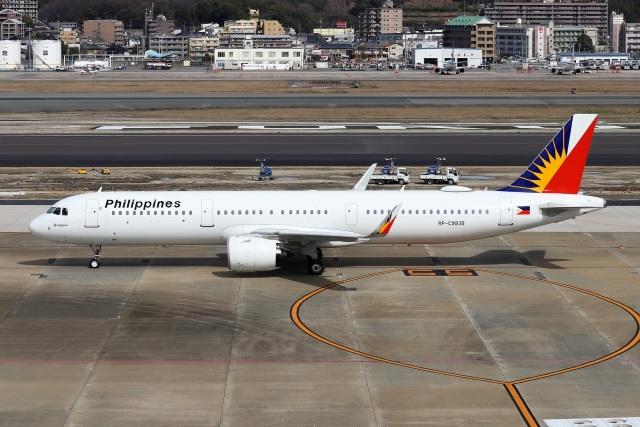 kan787allさんが、福岡空港で撮影したフィリピン航空 A321-271Nの航空フォト(飛行機 写真・画像)