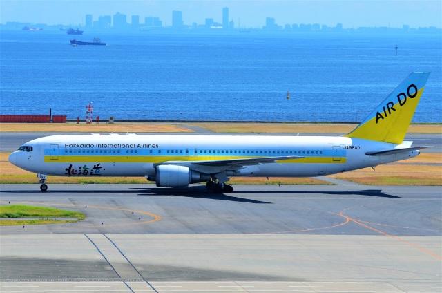 amagoさんが、羽田空港で撮影したAIR DO 767-33A/ERの航空フォト(飛行機 写真・画像)