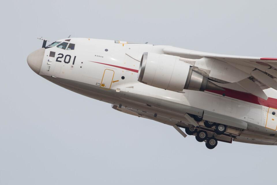 Koenig117さんの航空自衛隊 Kawasaki C-2 (08-1201) 航空フォト