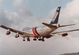 なかすぃ~さんが、伊丹空港で撮影したフライング・タイガー・ライン 747-121(A/SF)の航空フォト(飛行機 写真・画像)