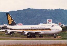 なかすぃ~さんが、伊丹空港で撮影したシンガポール航空 747-312の航空フォト(飛行機 写真・画像)