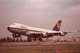 なかすぃ~さんが、伊丹空港で撮影したルフトハンザドイツ航空 747-230BMの航空フォト(飛行機 写真・画像)