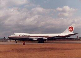 なかすぃ~さんが、伊丹空港で撮影した日本アジア航空 747-146の航空フォト(飛行機 写真・画像)