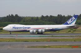 神宮寺ももさんが、成田国際空港で撮影した日本貨物航空 747-8KZF/SCDの航空フォト(飛行機 写真・画像)
