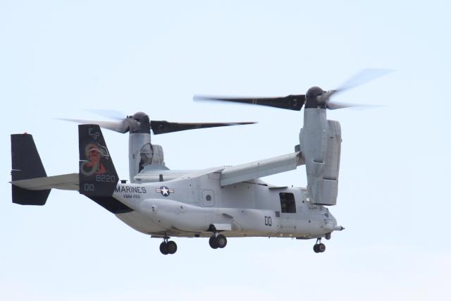 TAK_HND_NRTさんが、岩国空港で撮影したアメリカ海兵隊 MV-22Bの航空フォト(飛行機 写真・画像)