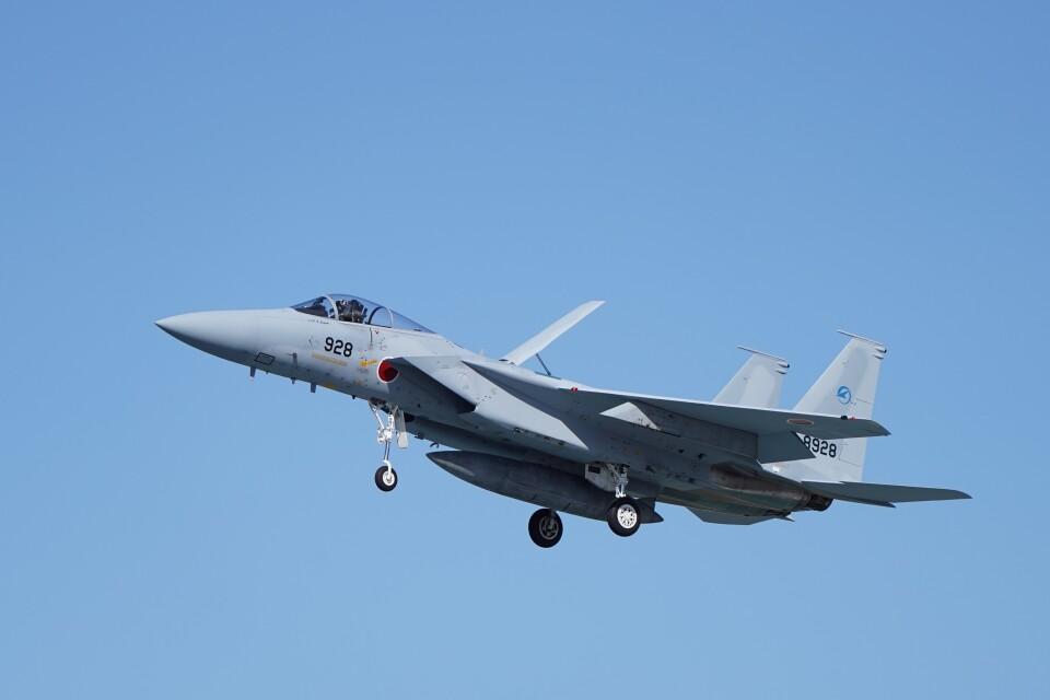 土岐のjunkoさんの航空自衛隊 Mitsubishi F-15J Eagle (12-8928) 航空フォト