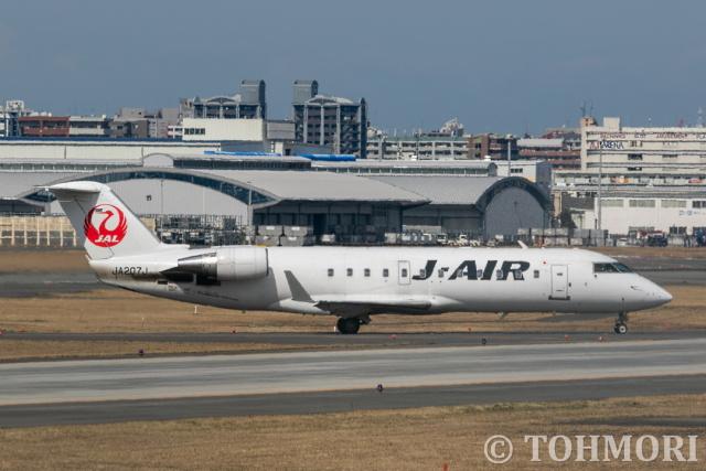 遠森一郎さんが、福岡空港で撮影したジェイエア CL-600-2B19 Regional Jet CRJ-200ERの航空フォト(飛行機 写真・画像)