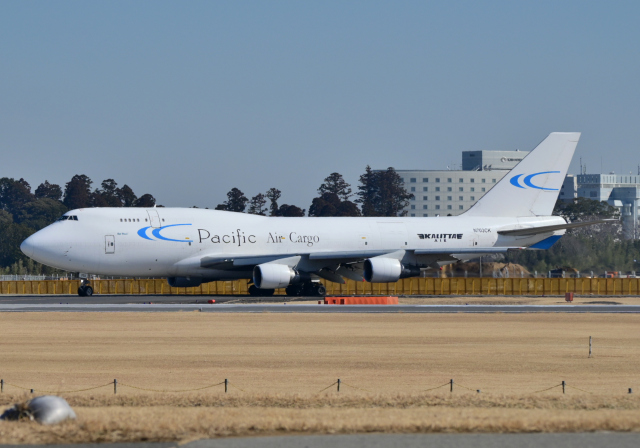 雲霧さんが、成田国際空港で撮影したカリッタ エア 747-412(BCF)の航空フォト(飛行機 写真・画像)
