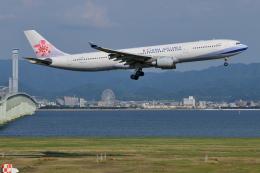 Deepさんが、関西国際空港で撮影したチャイナエアライン A330-302の航空フォト(飛行機 写真・画像)