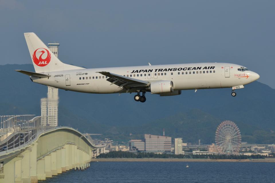 Deepさんの日本トランスオーシャン航空 Boeing 737-400 (JA8525) 航空フォト
