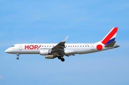 ちっとろむさんが、フランクフルト国際空港で撮影したエールフランス・オップ! ERJ-190-100(ERJ-190STD)の航空フォト(飛行機 写真・画像)