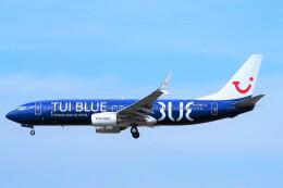 ちっとろむさんが、フランクフルト国際空港で撮影したトゥイフライ 737-8K5の航空フォト(飛行機 写真・画像)