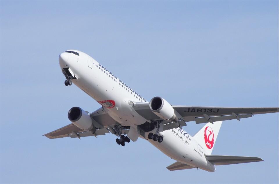 mild lifeさんの日本航空 Boeing 767-300 (JA613J) 航空フォト