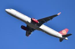 saoya_saodakeさんが、成田国際空港で撮影した吉祥航空 A321-231の航空フォト(飛行機 写真・画像)