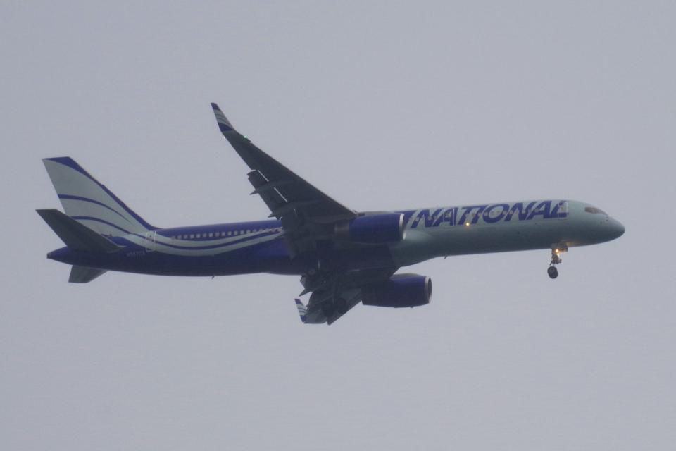 yabyanさんのナショナル・エアラインズ Boeing 757-200 (N567CA) 航空フォト