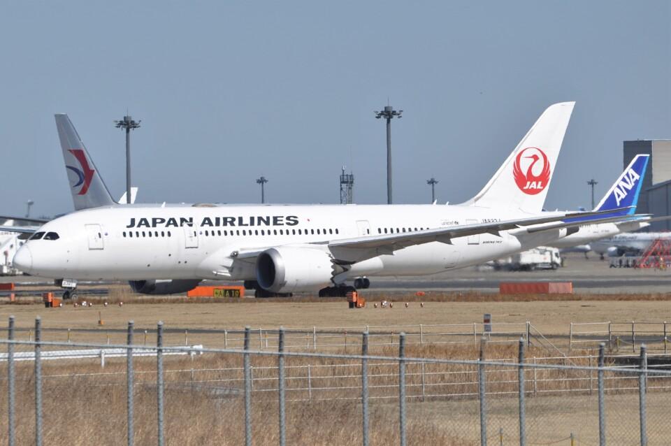Flying A340さんの日本航空 Boeing 787-8 Dreamliner (JA832J) 航空フォト