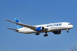 Mochi7D2さんが、成田国際空港で撮影したユナイテッド航空 787-9の航空フォト(飛行機 写真・画像)