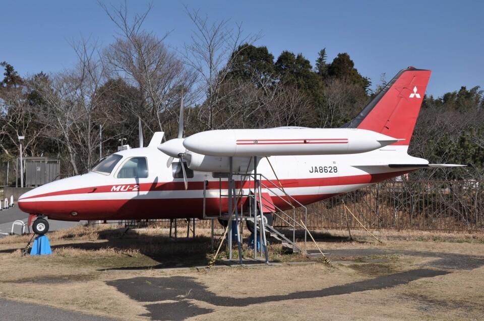 Flying A340さんの三菱重工業 Mitsubishi MU-2 (JA8628) 航空フォト
