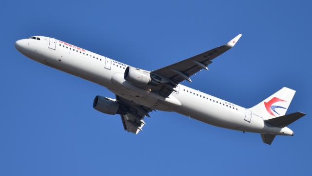 saoya_saodakeさんが、成田国際空港で撮影した中国東方航空 A321-211の航空フォト(飛行機 写真・画像)