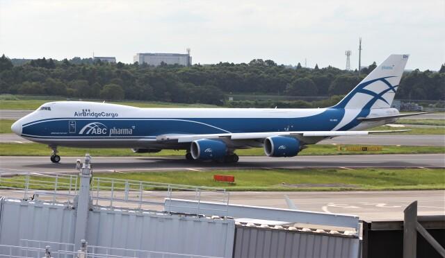 Rsaさんが、成田国際空港で撮影したエアブリッジ・カーゴ・エアラインズ 747-8HVFの航空フォト(飛行機 写真・画像)