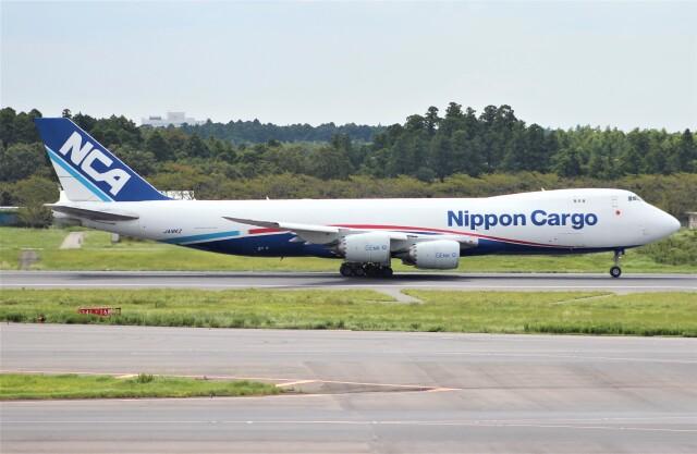 Rsaさんが、成田国際空港で撮影した日本貨物航空 747-8KZF/SCDの航空フォト(飛行機 写真・画像)