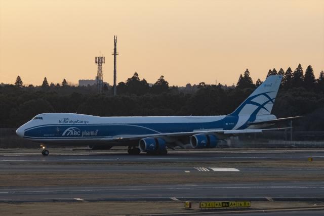 Mochi7D2さんが、成田国際空港で撮影したエアブリッジ・カーゴ・エアラインズ 747-867F/SCDの航空フォト(飛行機 写真・画像)