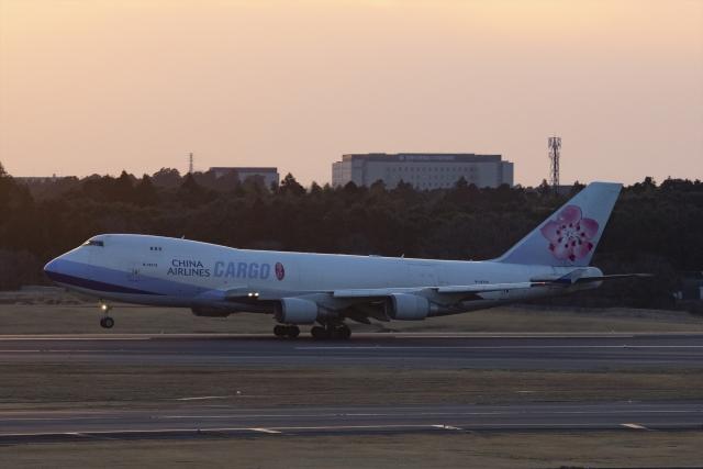 Mochi7D2さんが、成田国際空港で撮影したチャイナエアライン 747-409F/SCDの航空フォト(飛行機 写真・画像)