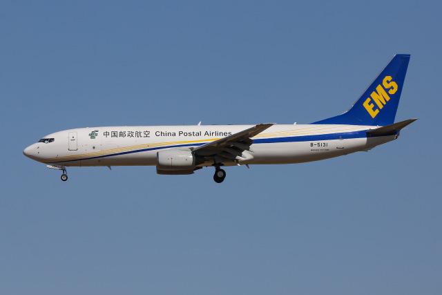 よんろくさんが、成田国際空港で撮影した中国郵政航空 737-8Q8(BCF)の航空フォト(飛行機 写真・画像)