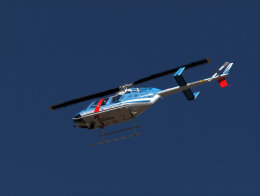 jp arrowさんが、名古屋飛行場で撮影した大阪府警察 206L-4 LongRanger IVの航空フォト(飛行機 写真・画像)