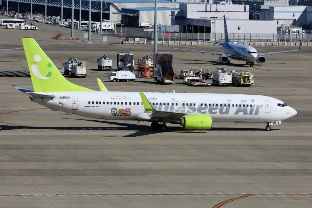PW4090さんが、中部国際空港で撮影したソラシド エア 737-86Nの航空フォト(飛行機 写真・画像)