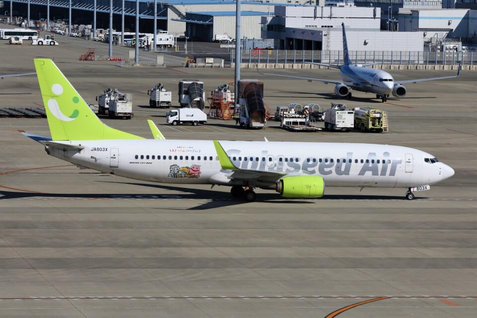 PW4090さんのソラシド エア Boeing 737-800 (JA803X) 航空フォト