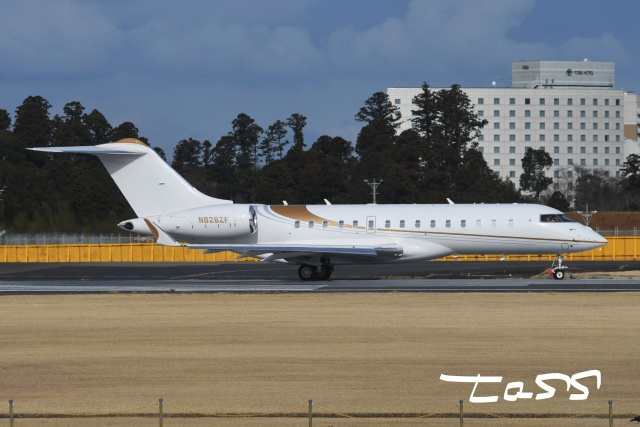 tassさんが、成田国際空港で撮影したPhenix Jet International BD-700-1A10 Global 6000の航空フォト(飛行機 写真・画像)