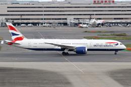 Echo-Kiloさんが、羽田空港で撮影したブリティッシュ・エアウェイズ 787-9の航空フォト(飛行機 写真・画像)