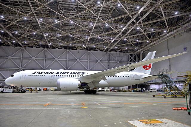 監督さんが、羽田空港で撮影した日本航空 787-8 Dreamlinerの航空フォト(飛行機 写真・画像)