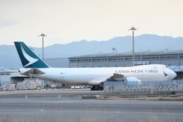 M.Tさんが、関西国際空港で撮影したキャセイパシフィック航空 747-867F/SCDの航空フォト(飛行機 写真・画像)