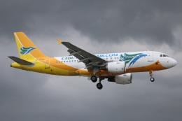ニヤンさんが、ニノイ・アキノ国際空港で撮影したセブパシフィック航空 A319-111の航空フォト(飛行機 写真・画像)
