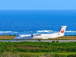 監督さんが、石垣空港で撮影した琉球エアーコミューター DHC-8-402Q Dash 8 Combiの航空フォト(飛行機 写真・画像)