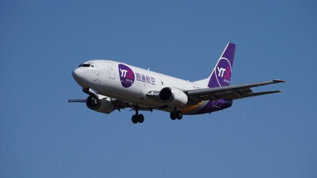 IMP.TIさんが、成田国際空港で撮影したYTOカーゴ・エアラインズ 737-37K(SF)の航空フォト(飛行機 写真・画像)