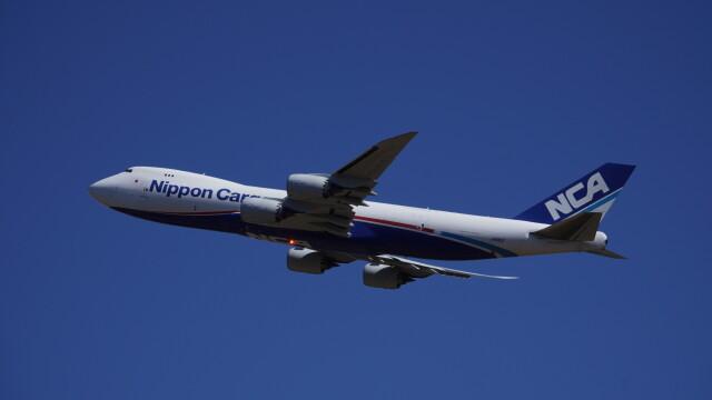 IMP.TIさんが、成田国際空港で撮影した日本貨物航空 747-8KZF/SCDの航空フォト(飛行機 写真・画像)