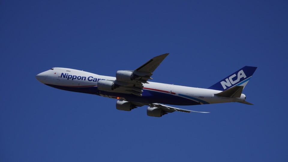 IMP.TIさんの日本貨物航空 Boeing 747-8 (JA11KZ) 航空フォト