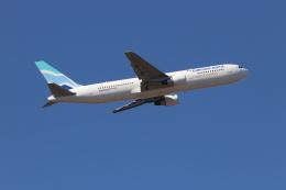 89Xさんが、成田国際空港で撮影したユーロアトランティック・エアウェイズ 767-34P/ERの航空フォト(飛行機 写真・画像)