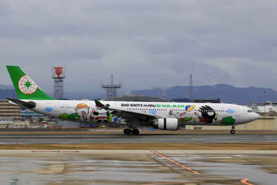 aki241012さんのエバー航空 Airbus A330-300 (B-16331) 航空フォト