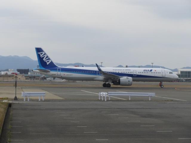commet7575さんが、福岡空港で撮影した全日空 A321-272Nの航空フォト(飛行機 写真・画像)