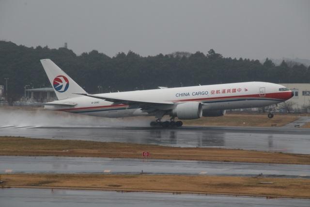 ショウさんが、成田国際空港で撮影した中国貨運航空 777-F6Nの航空フォト(飛行機 写真・画像)