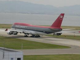 yossiさんが、関西国際空港で撮影したノースウエスト航空 747-451の航空フォト(飛行機 写真・画像)